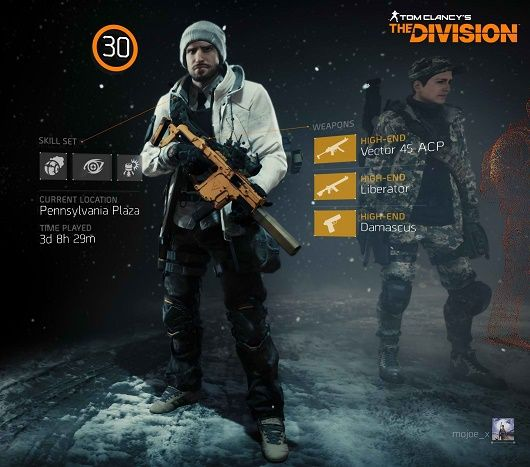 Suggested Endgame Character Build in Tom Clancy's: The Division