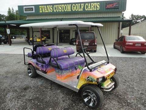 Evans Custom Golf Carts - Used Golf Carts For Sale - Effingham SC ...