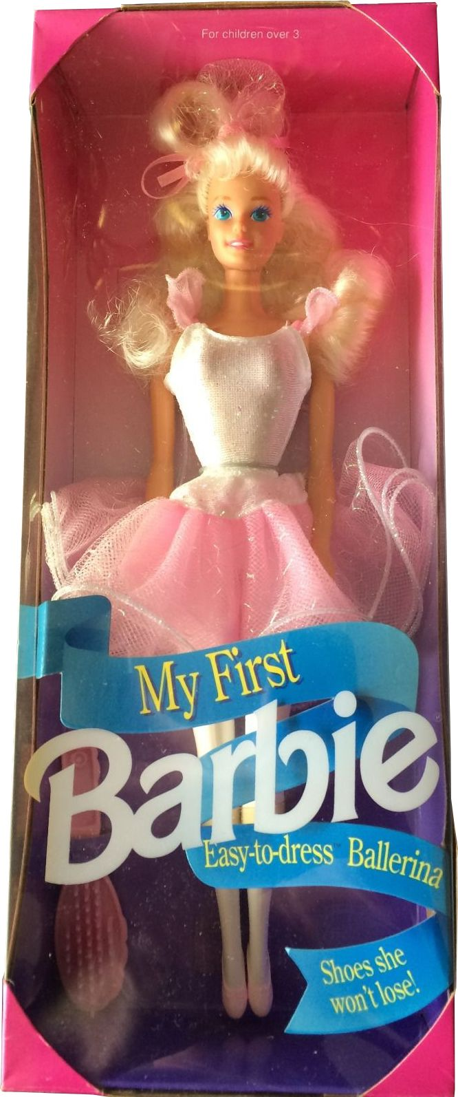1992 My first ballerina Barbie doll 2 #2516 | Barbie