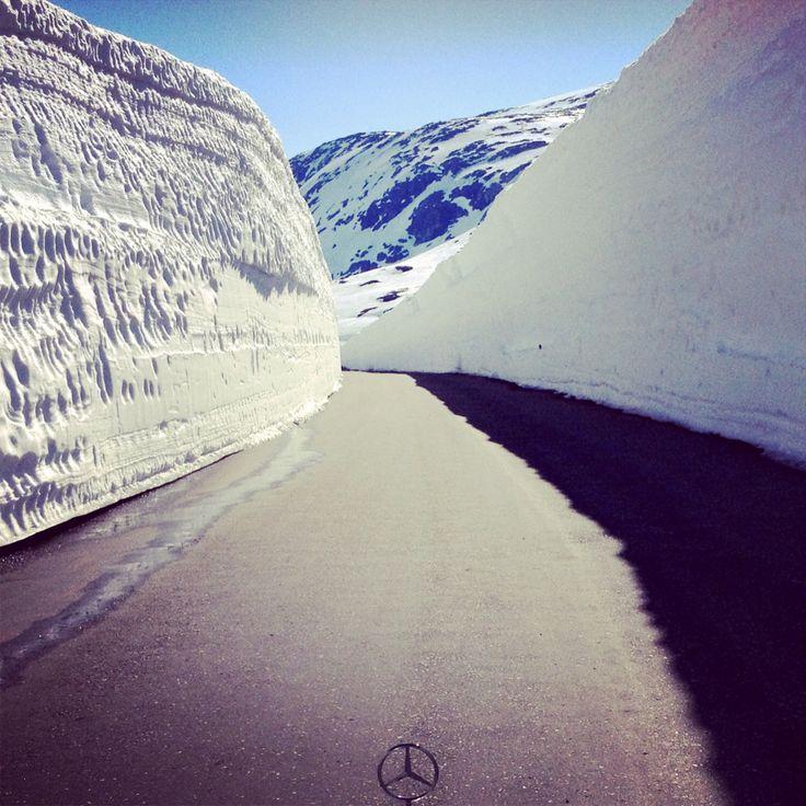 Stryn summer ski resort, Norway