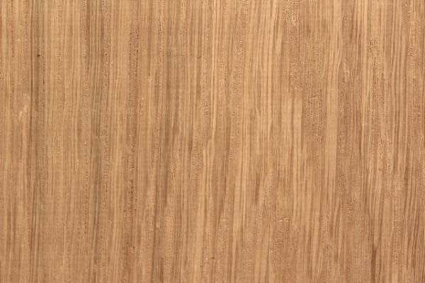 The rays of white oak lumber are large and show up as long lines on the face of flat sawn lumber. They are much longer than the rays in red oak lumber and usually have less contrast. White oak looks more like straw.
