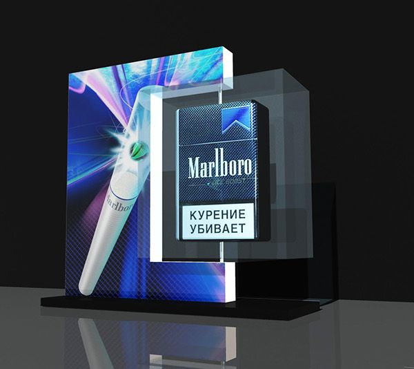 P.O.S. tabaco display on Behance