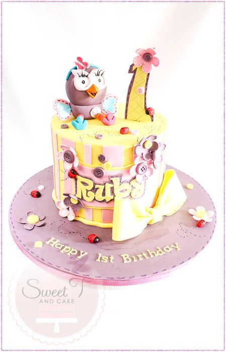 Hootabelle - by sweettandcake @ CakesDecor.com - cake decorating website