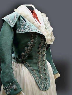Have fabric.  Will make. Late 18th Century, Kyoto Costume Institute