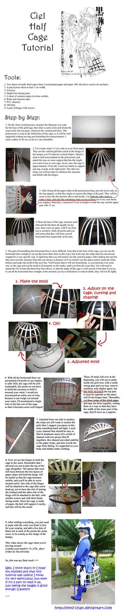 ....I think I could do this....  Half-Cage Tutorial .En. by ~Mitz-chan on deviantART
