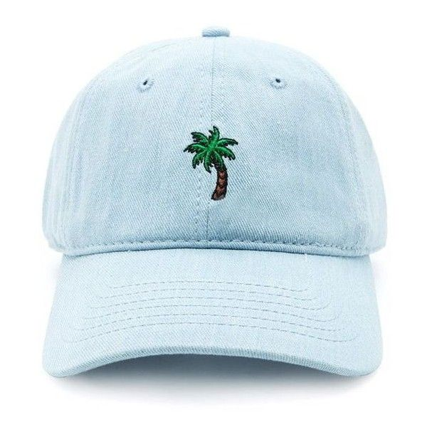 Forever21 Men Palm Tree Baseball Cap ❤ liked on Polyvore featuring men's fashion, men's accessories, men's hats, mens baseball caps, mens hats, mens baseball hats and mens ball caps