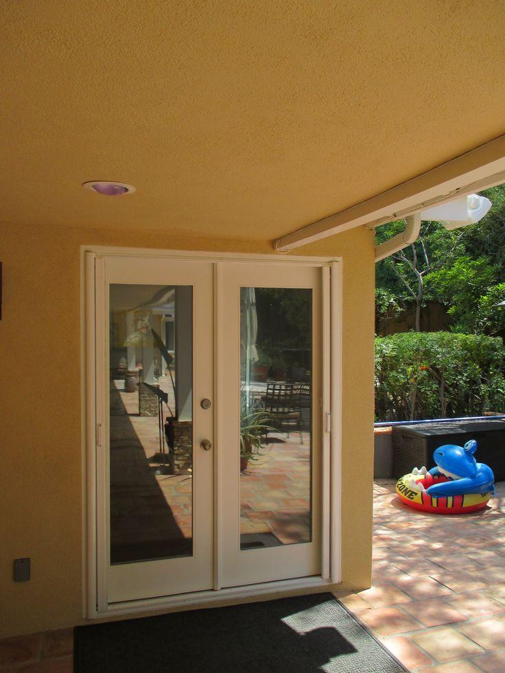 114 best images about french door stowaway retractable for Retractable screen door for double front door