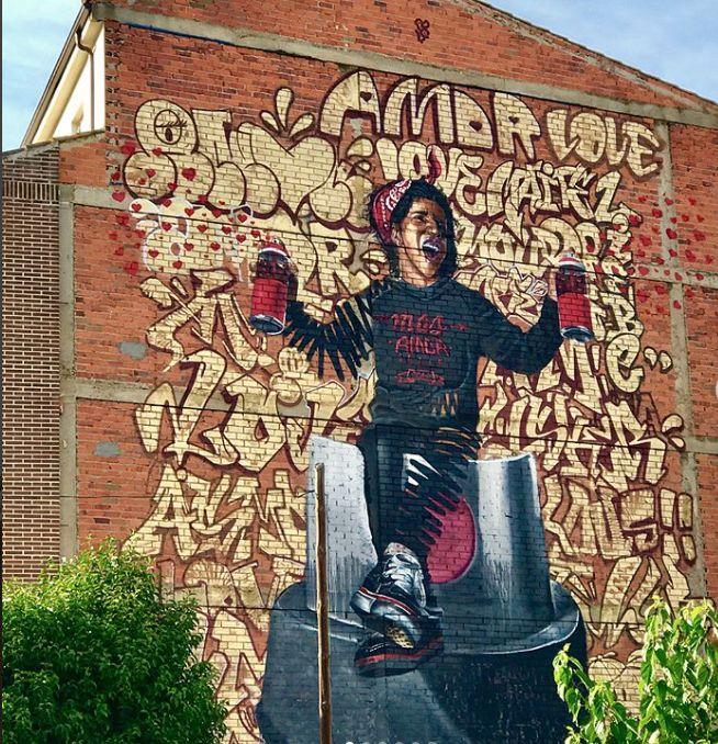 1975 best street art spain images on pinterest - Tuco zaragoza ...
