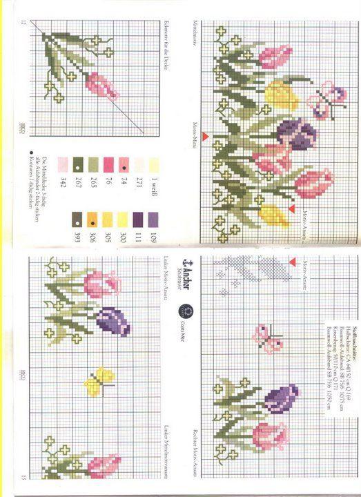 cross stitch tulip spring - Gallery.ru / Фото #20 - 10 - benji67