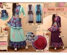 jual busana muslim modern modis z913 pusat grosir belanja online shop baju muslimah harga murah dan berkualitas
