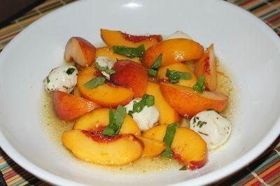Little Bit of Everything: Peach Caprese Salad