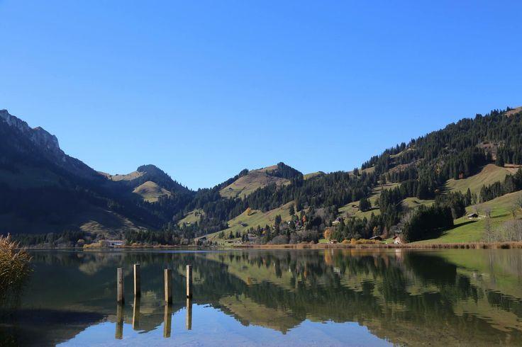 Schweiz. Schwarzsee. Путешествуем