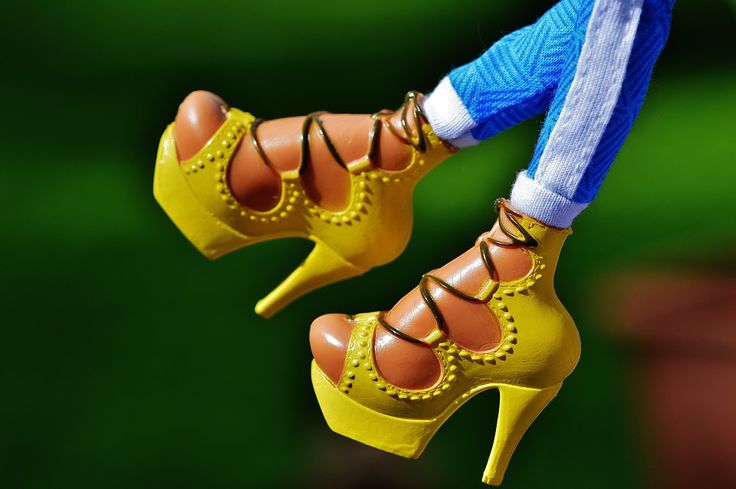 Moda extravagante en los pies #Impresionante