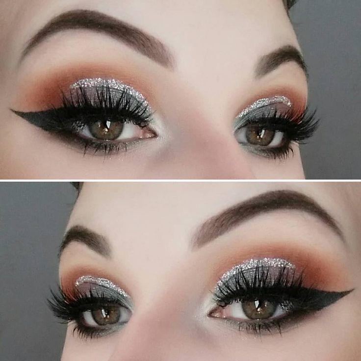 Eyeshadow • @tartecosmetics mermaid palette Brows @anastasiabeverlyhills dip brow pomade in ebony  Winged liner • KVD tattoo liner  Glitter • @makeuprevue star flash  #tarte #tartecosmetics #tartemermaidpalette #tartemermaid #mermaid #mermaidpalette #eyeshadow #tarteeyeshadow #makeuprevue #makeuprevueglitter #wingedliner #kvdtattooliner #abhdipbrow #dipbrowpomade #falselashes #lashes #houseoflashes #natalia #yeg #followforfollow #makeup #makeuplooks #eyeshadowlook  #makeuplook…