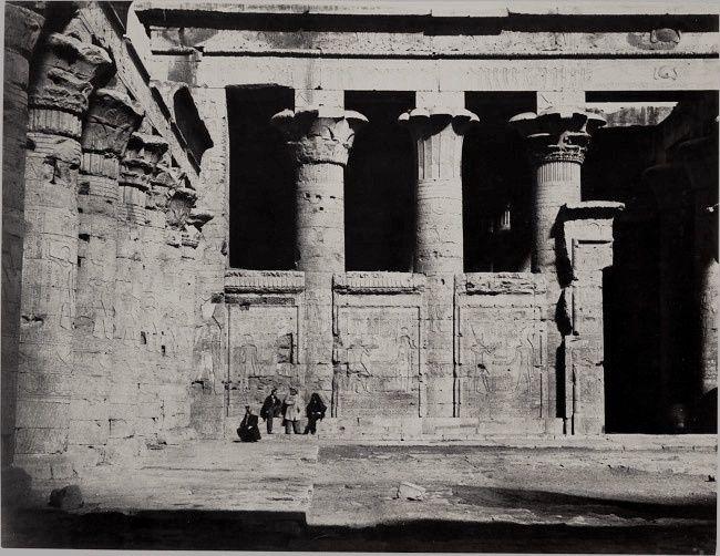 Temple of Edfu, 1867