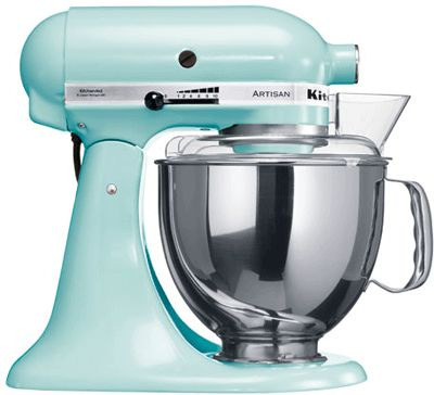 Kitchenaid Ice Blue Food Mixer In An Ideal World I D Have
