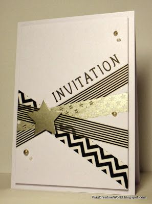 Pia'sCreativeWorld: Invitation for an 18th Birthday Party