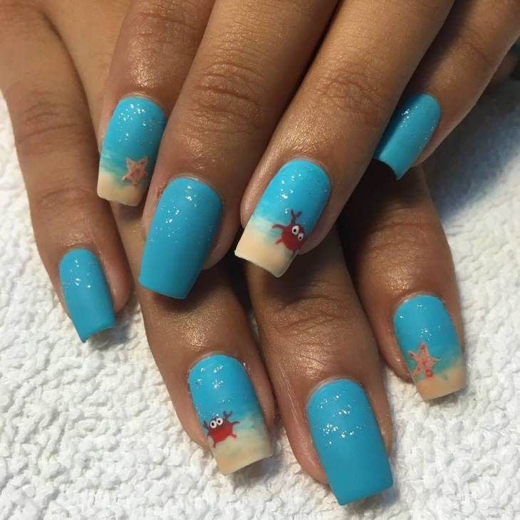 Playful Polishes June Nail Art Challenge Ocean Nails: 17 Best Images About Nails On Pinterest