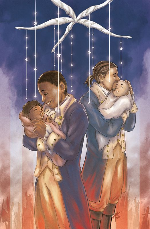 """Dear Theodosia"" is my favorite song of the musical.  The song really gets to the true motivations of both men that lead to the tragic end.  This is a beautiful picture!"