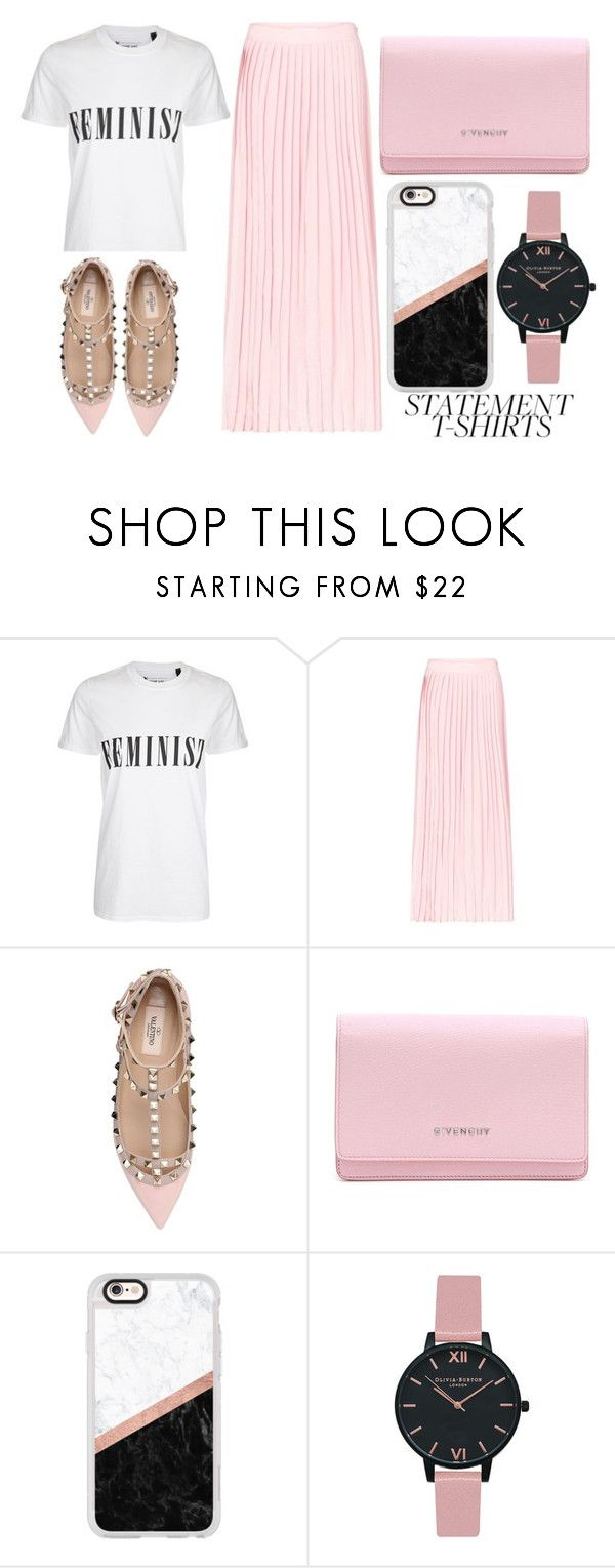 """Feminist"" by mollie-simmonds ❤ liked on Polyvore featuring Tee and Cake, Anine Bing, Valentino, Givenchy, Casetify and Olivia Burton"