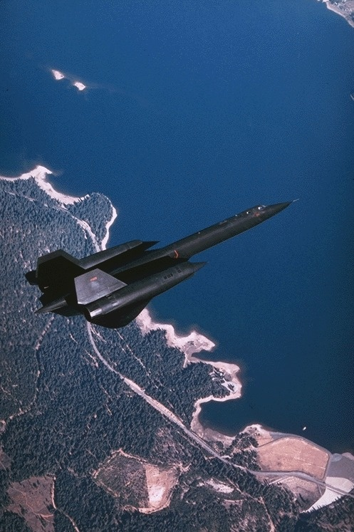Sr71 Blackbird ultra high altitude image gathering military legend ( The fastest USAF that's declassified ) ever ✅