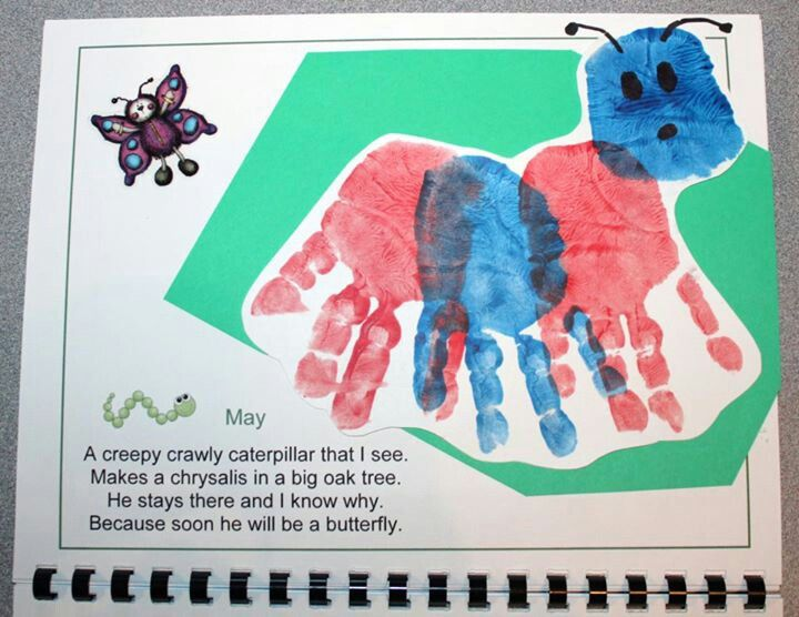 Calendar Art Project : Best handprint calendar images on pinterest