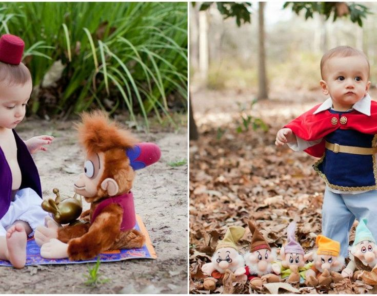 This 1-Year-Old's Disney Prince-Themed Photo Shoot Is Incredibly Charming