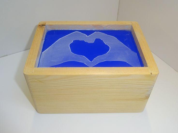 MR wooden box.