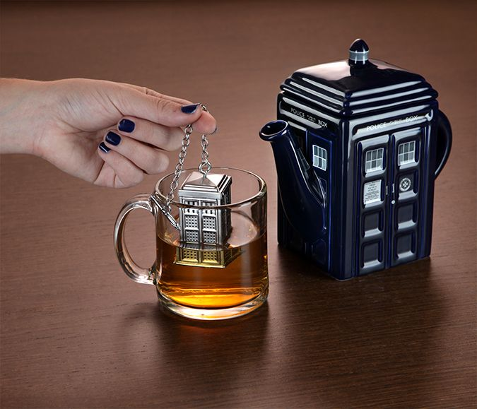 Doctor Who TARDIS Tea Infuser