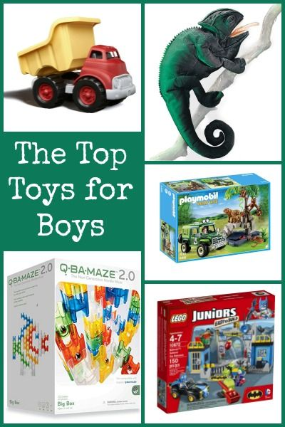 The best gifts for boys.  Open-ended toys that will actually get played with!  From a mom of four sons. :-)