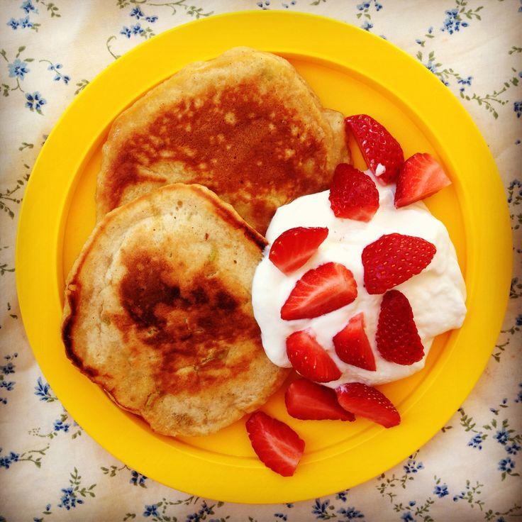 Pear & Cinnamon Pikelets/Pancakes