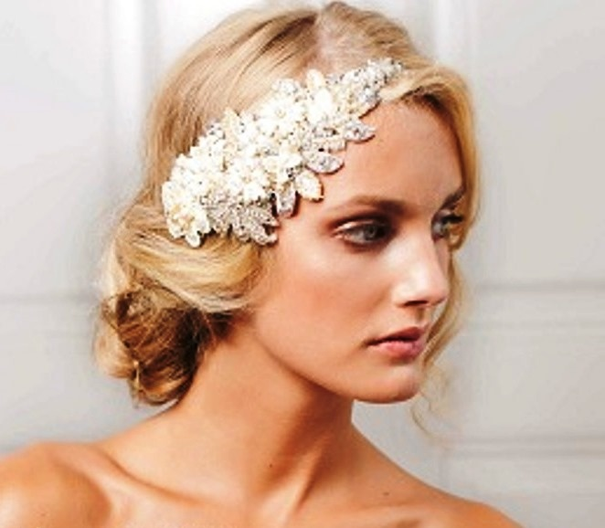 Wedding Hairstyles With Headpieces: 167 Best Images About Wedding