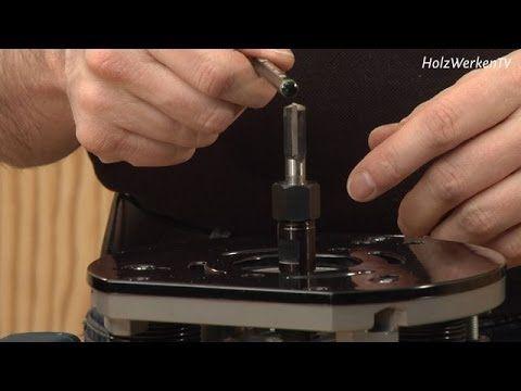 Oberfräse - Legen Sie Ihren Schaftfräser tiefer! - YouTube