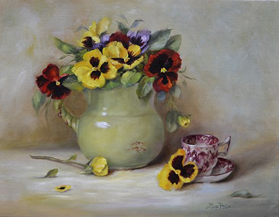 From the Garden by Lisa Price Oil ~ 11 x 14