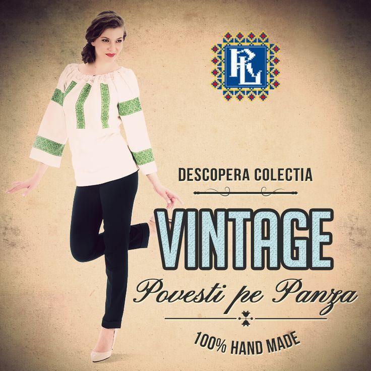 Se poarta #vintage<3 #ie #romanianblouse #ieromanianlabel