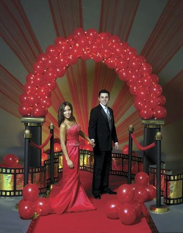 Hollywood quinceanera theme quinceanera themes party for Hollywood party dekoration