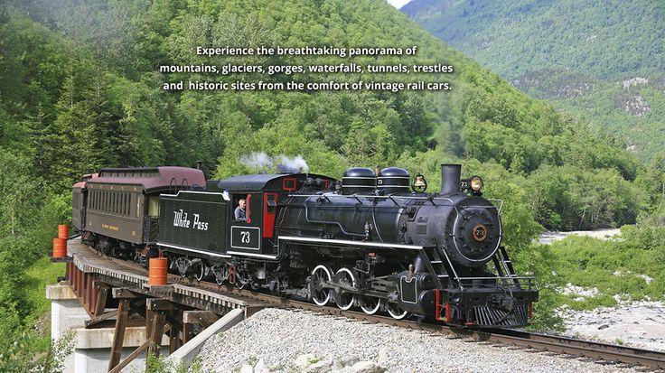 White Pass & Yukon train