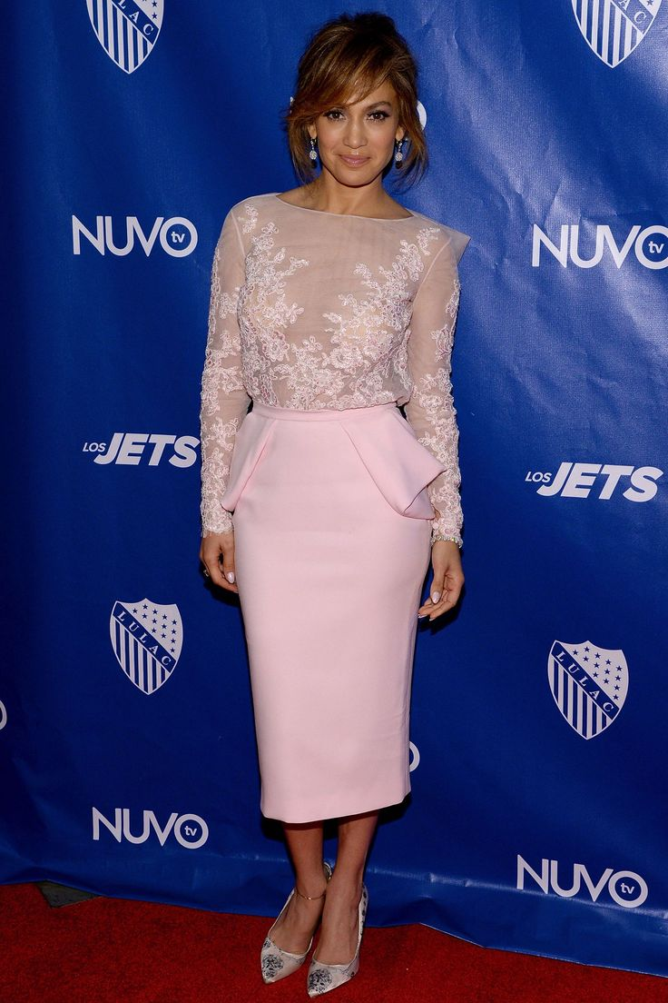 Jennifer arrives at the LULAC/NUVOtv Unity Luncheon in New York City on July 10, 2014.