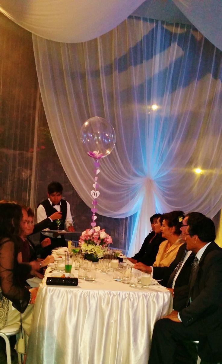 Centros de mesa para matrimonios. Una idea diferente y super linda.