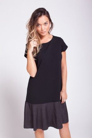 A black every day beautiful dress