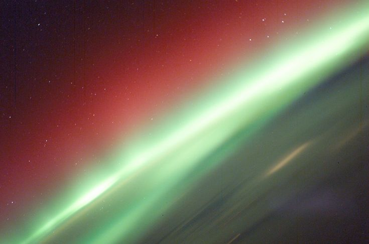Archive: Red and Green Aurora (NASA, International Space Station, 03/30/03) | by NASA's Marshall Space Flight Center