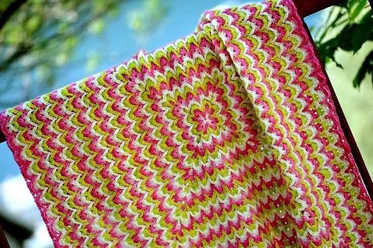 Bargello Blanket