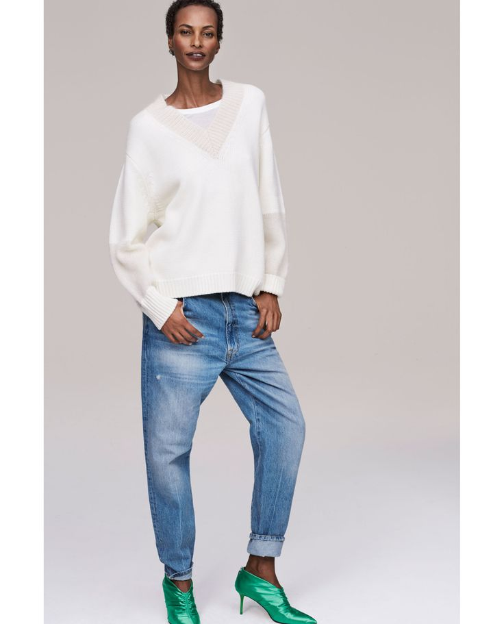 ZARA - WOMAN - THE RECONSTRUCTED VINTAGE HIGH WAIST JEANS