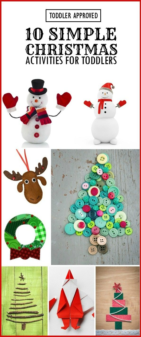 Read on, to find some fun Christmas craft ideas your toddler will enjoy doing this festive season. Here is our pick of top 10 Christmas-themed activities that your toddler will love.