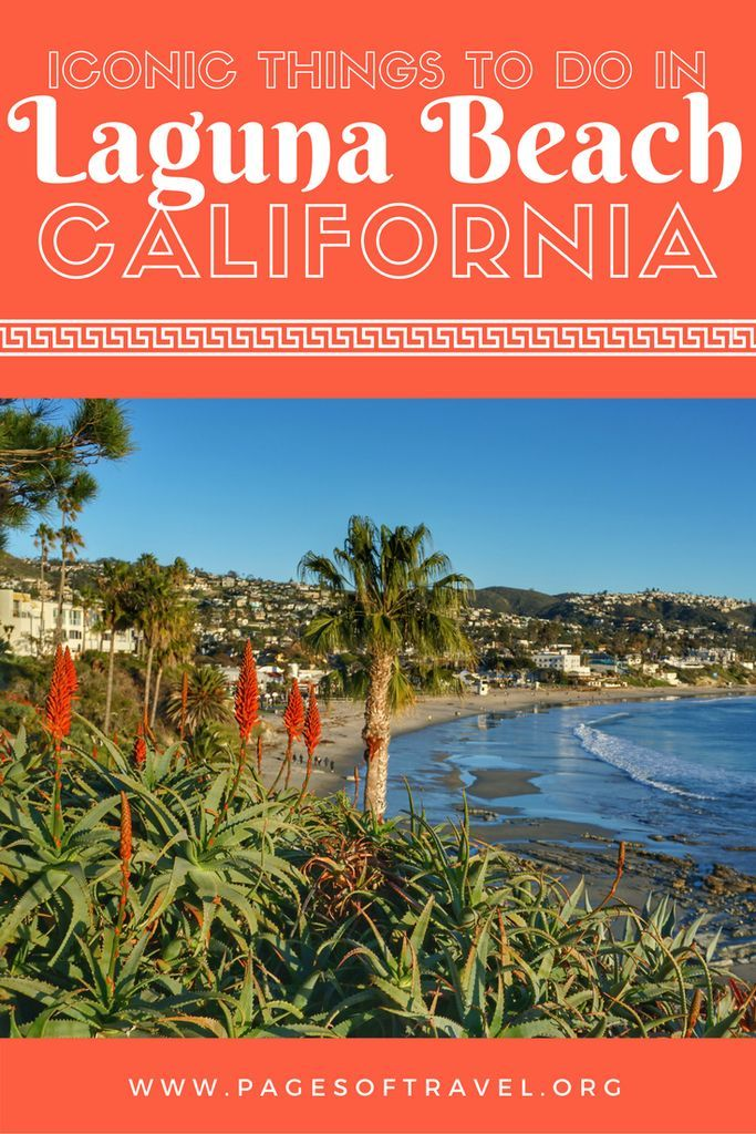 Laguna Beach is a small costal city located south of Los Angeles. It is well-known for it's beaches, art galleries, and tide pools. It would be shame to miss this relaxed, friendly city while in California!