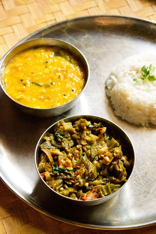 bhindi bhaji: easy bhindi bhaji