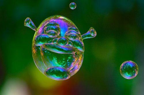 shrek is not love, shrek is a bubble