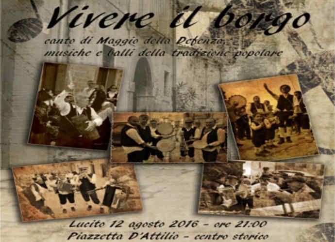 Vivere il Borgo a Lucito, canti, musica popolare e gastronomia