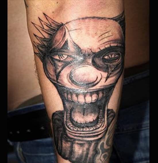 19 Best Clown Tattoos For Men Images On Pinterest