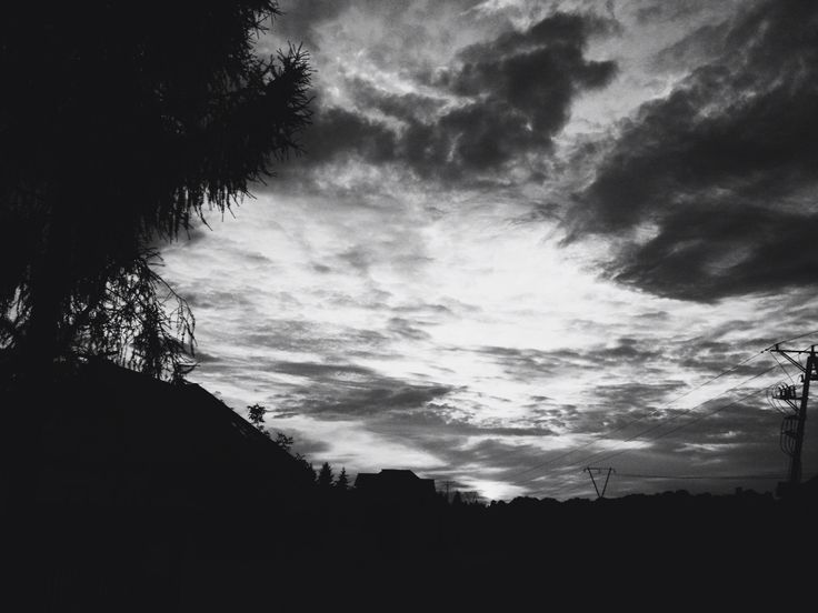 Clouds photography village sunrise